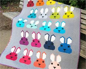 Sewing Pattern, Elizabeth Hartman, Bunny Quilt