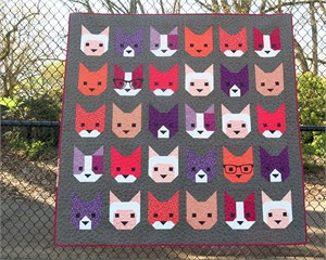 Sewing Pattern, Elizabeth Hartman, The Kittens Quilt