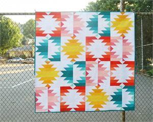 Sewing Pattern, Elizabeth Hartman, Solar Eclipse Quilt Pattern