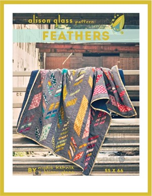 Sewing Pattern, Feathers Quilt by Alison Glass Sew
