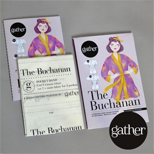 Sewing Pattern, gather, The Buchanan