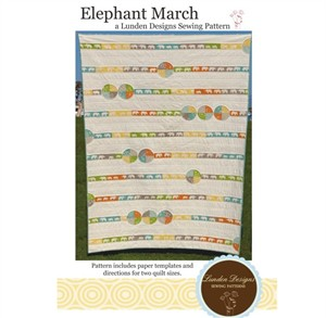 Sewing Pattern, Lunden Designs, Elephant March