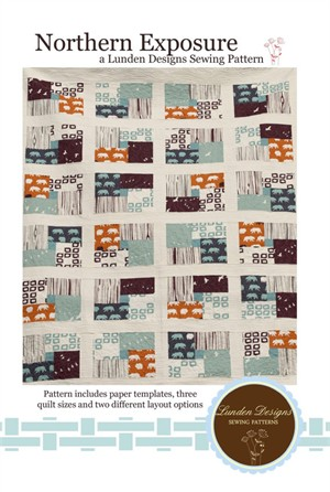 Sewing Pattern, Lunden Designs, Northern Exposure Quilt Pattern