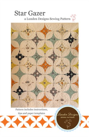 Sewing Pattern, Lunden Designs, Star Gazer Quilt