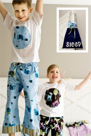 Sewing Pattern, Make it Perfect, Slumber Party Jammies (Little)
