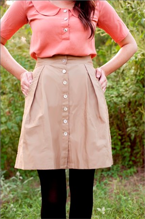Sewing Pattern, Megan Nielsen, Kelly Skirt