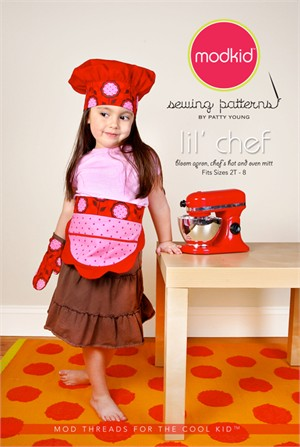 Sewing Patterns, Mod Kid, Lil' Chef