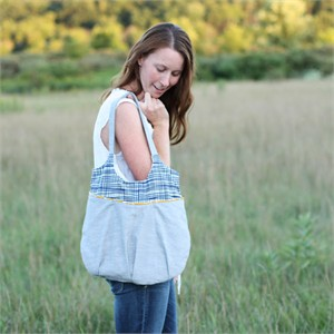 Sewing Pattern, Noodlehead, Go Anywhere Bag