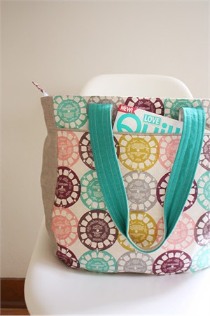 Sewing Pattern, Noodlehead, Super Tote