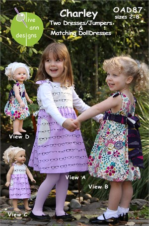 Sewing Patterns, Olive Ann Designs, Charley