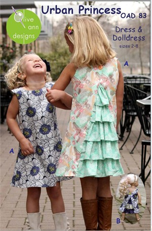Sewing Patterns, Olive Ann Designs, Urban Princess Dress