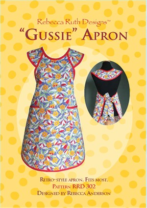 "Sewing Patterns, Rebecca Ruth Designs, ""Gussie"" Apron"