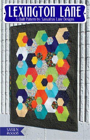 Sewing Pattern, Sassafras Lane Designs, Lexington Lane Quilt Pattern