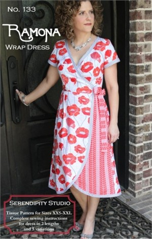 Sewing Pattern, Serendipity Studio, Ramona Wrap Dress