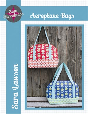 Sewing Pattern, Sew Sweetness, Aeroplane Bags