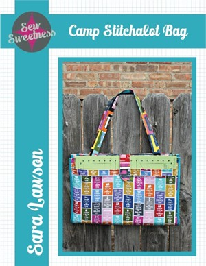 Sewing Pattern, Sew Sweetness, Camp Stitchalot Bag