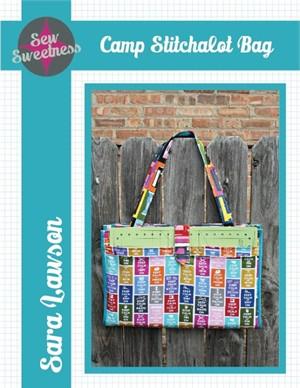 Sewing Pattern, Sew Sweetness, Camp Stitchalot Bag