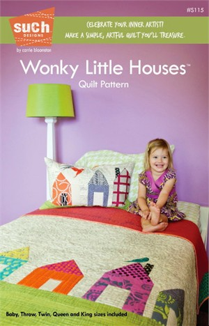 Sewing Patterns, Such Designs, Wonky Little Houses Quilt Pattern