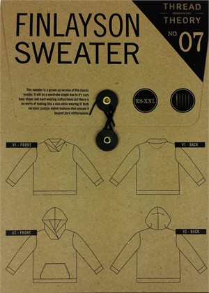 Sewing Pattern, Thread Theory, Finlayson Sweater