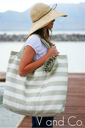 Sewing Pattern, V & Co., Beach Bag