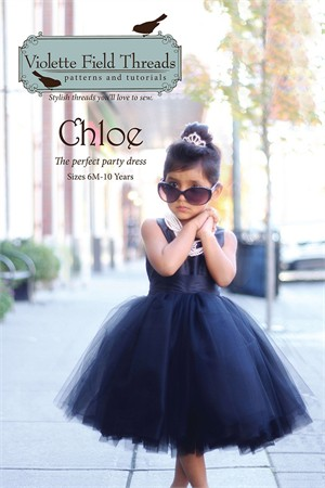 Sewing Patterns, Violette Field Threads, Chloe Dress Pattern