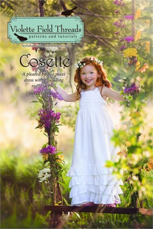 Sewing Pattern, Violette Field Threads, Cosette