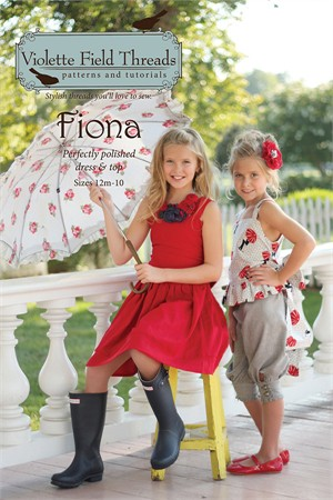 Sewing Patterns, Violette Field Threads, Fiona Dress & Top Pattern