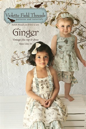 Sewing Pattern, Violette Field Threads, Ginger