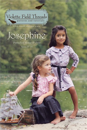 Sewing Patterns, Violette Field Threads, Josephine Top & Dress Pattern