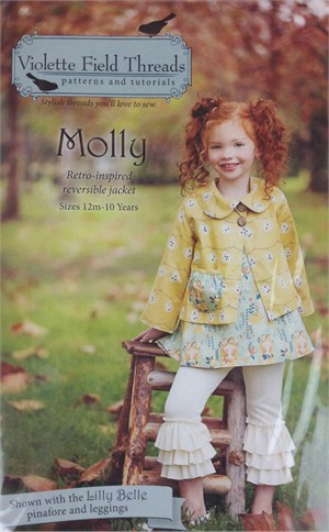 Sewing Pattern, Violette Field Threads, Molly