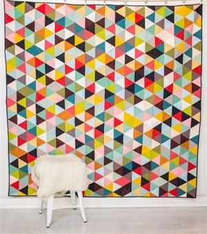 Free Pattern | Tri Love Quilt | By Lunden Designs