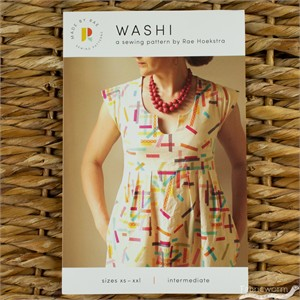 Made By Rae, Sewing Pattern, Washi Dress