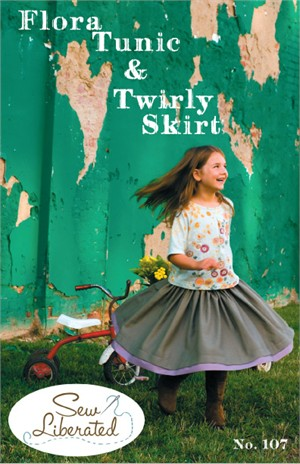 Sew Liberated Flora Tunic and Twirly Skirt Sewing Pattern