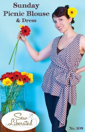 Sew Liberated Sunday Picnic Blouse and Dress Sewing Pattern