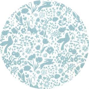 Sarah Jane for Michael Miller, DOUBLE GAUZE, Sommer, Shadow Garden Mist