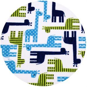 Shannon Fabrics, Ann Kelle, Giraffe Midnight
