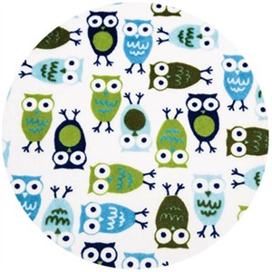 Shannon Fabrics, Ann Kelle, Minky, Night Owls Midnight