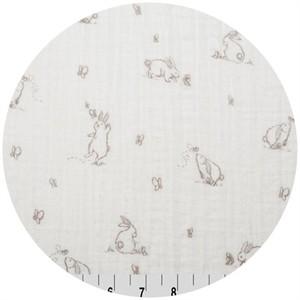 Shannon Fabrics, Embrace, DOUBLE GAUZE, Bunny Pink