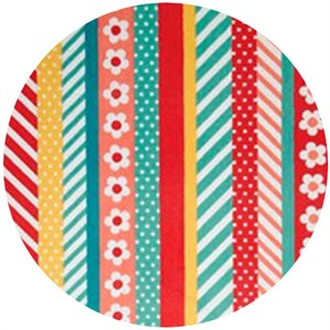 Shannon Fabrics, Minky Ticker Tape Juicy Fruit