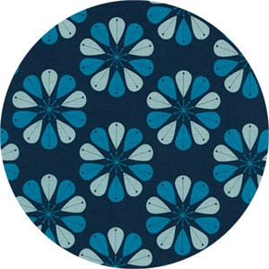 Cotton and Steel, Beauty Shop, Shower Cap Navy