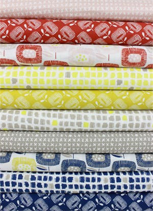 Skinny laMinx for Cloud9, Around the Block, Entire Collection in FAT QUARTERS 10 Total