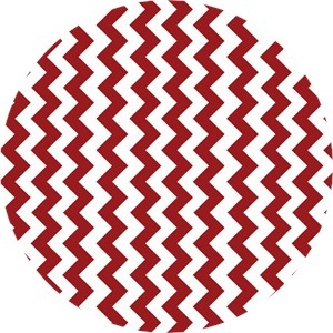 Riley Blake, Small Chevron Crimson