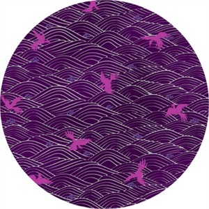 Japanese Import, Tori METALLIC, Soaring Seas Plum