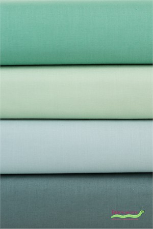 Birch Organic Fabrics, Mod Basics Curated by Suzy Quilts, Solid Water 4 Total