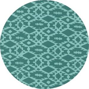 Hoffman Fabrics, Indah BATIKS, Southwestern Weave Teal