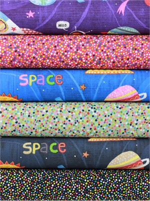 Alexander Henry, Space Dust in FAT QUARTERS 6 Total