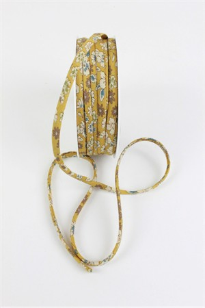 "Frou-Frou, 1/4"" Spaghetti Strap, Floral Gold"