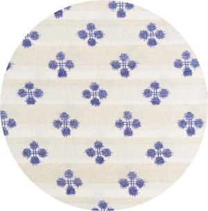 Japanese Import, Indigo Print, Spatter Indigo Cream