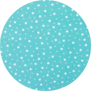 Maywood Studios, FLANNEL, Spotty Dot Aqua
