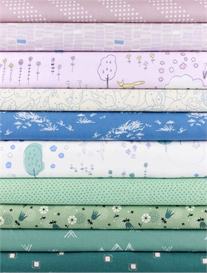 Fabricworm Custom Bundle, Spring Pastel 10 Total
